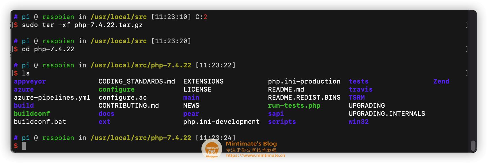 下载PHP源码